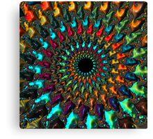 Kaleidoscope - Fractal Art - Square Canvas Print