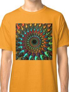 Kaleidoscope - Fractal Art - Square Classic T-Shirt