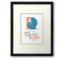 You are My Twinkle Little Star Framed Print