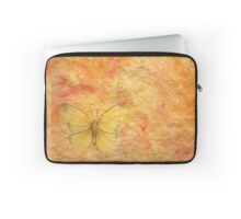 orange,rustic,background,orange,butterfly,yellow,grunge,parchment, Laptop Sleeve