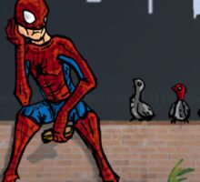 Even SuperHeroes Need McDonalds Sticker