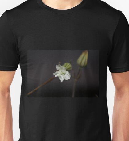Dew Drops on Flower Unisex T-Shirt