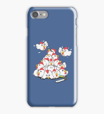 Fluffy Vengeance iPhone Case/Skin