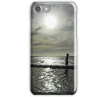 The child and the sea iPhone Case/Skin