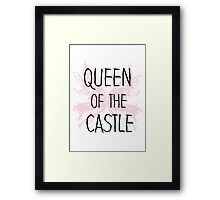 Queen of the Castle Seinfeld quote Framed Print