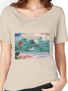 In Spring- Original Oil Painting by Margaret Harker for Silver Falcon Arts Women's Relaxed Fit T-Shirt