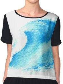 Wave Chiffon Top