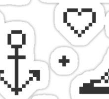 Let's pixelate Sticker