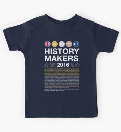 History Makers GB 2016 Kids Tee