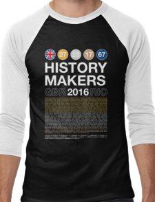 History Makers GB 2016 Men's Baseball ¾ T-Shirt