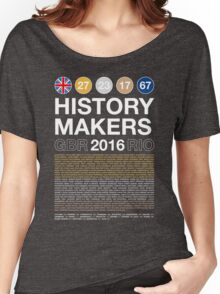 History Makers GB 2016 Women's Relaxed Fit T-Shirt