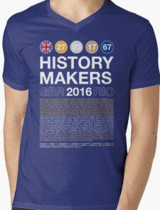 History Makers GB 2016 Mens V-Neck T-Shirt