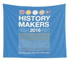 History Makers GB 2016 Wall Tapestry