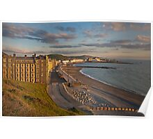 Aberystwyth Seafront Poster