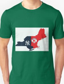 MLB Rivalry Map Unisex T-Shirt