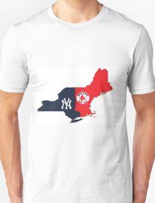 MLB Rivalry Map T-Shirt