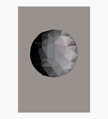 The Swift Planet - A Faceted View of the Planet Mercury Photographic Print