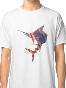 Patriotic Sailfish Classic T-Shirt