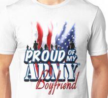 Proud of my Army Boyfriend Unisex T-Shirt
