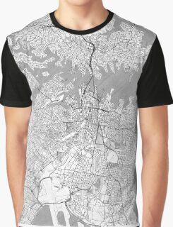 Sydney Map Line Graphic T-Shirt