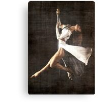 The Pole Dancer Canvas Print