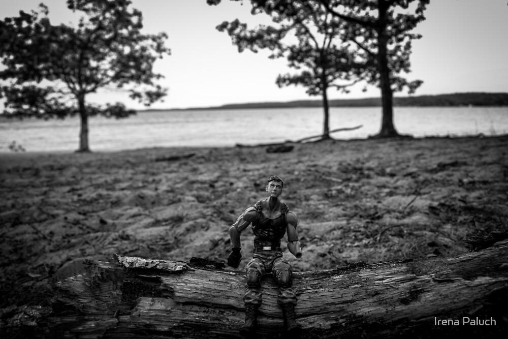 G. I. Joe at the Beach by Irena Paluch