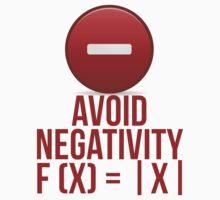Avoid Negativity f (x) = x by mralan