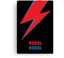 "David Bowie ""Rebel Rebel"" original design Canvas Print"