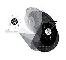 Harmony -Yin&yang Photographic Print