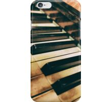 An old piano iPhone Case/Skin