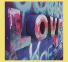 Graffiti with Love Baby Tee