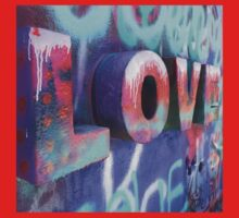 Graffiti with Love One Piece - Long Sleeve