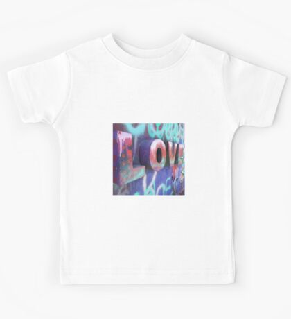 Graffiti with Love Kids Tee