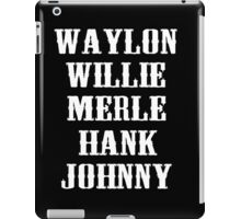 All Star Country Legend  iPad Case/Skin