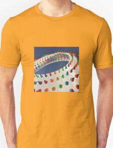 Spiked Rainbow Unisex T-Shirt