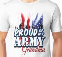 Proud of my Army Grandma Unisex T-Shirt