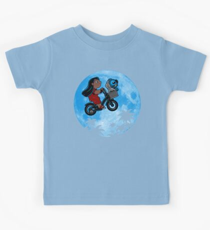 Stitch Phone Home Kids Clothes