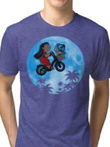 Stitch Phone Home Tri-blend T-Shirt