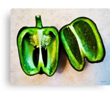 Poblano Pepper Canvas Print