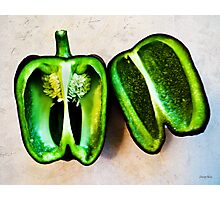 Poblano Pepper Photographic Print