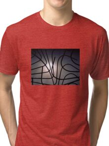 Curvilinear Cagework Tri-blend T-Shirt