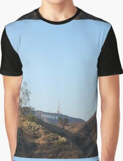 Hollywood Sign Graphic T-Shirt