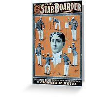 Performing Arts Posters The starboarder that funny show 0333 Greeting Card