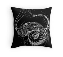 Fantastic Shell Design Throw Pillow