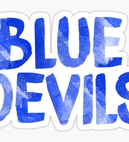 duke university blue devils north carolina coach k sticker Sticker