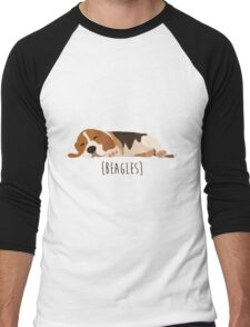 Beagles Men's Baseball ¾ T-Shirt