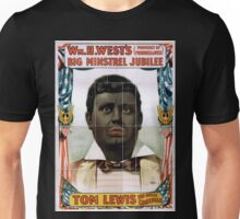 Performing Arts Posters Wm H Wests Big Minstrel Jubilee formerly of Primrose West 1884 Unisex T-Shirt