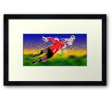 Soccer Goalie_Olympic Sports 006 Framed Print