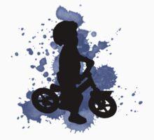 Balance biker Blue Rider Baby Tee