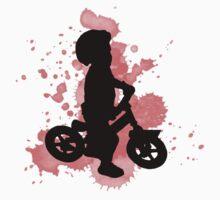 Balance Biker Red Rider One Piece - Long Sleeve